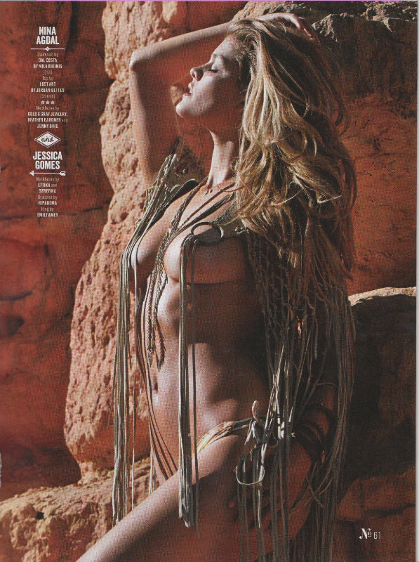 Heather Gardner jewelry in Sports Illustrated Swimsuit 2015