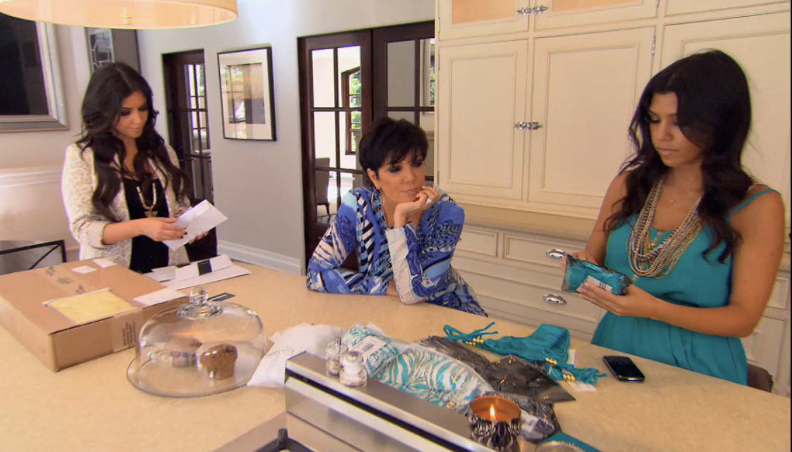 Keeping Up With Kourtney Kardashian In Tiger Lily
