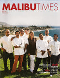 Cover photo of the November/December 2009 Malibu Times magazine
