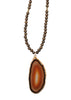 CROP72 dpiAgate Wood Bead Necklace