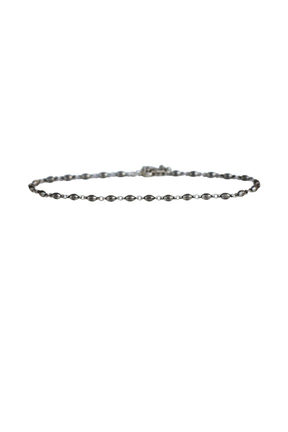 California Chain Choker in Silver