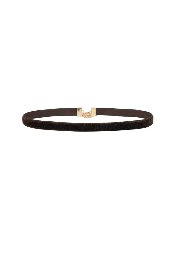 Chocolate Desert Tobacco Choker