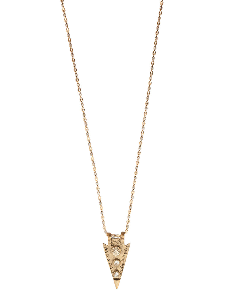 Coachella Arrowhead Necklace