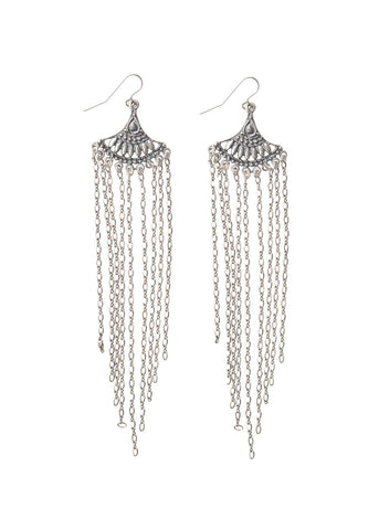Dakota Sunrise Fringe Earrings