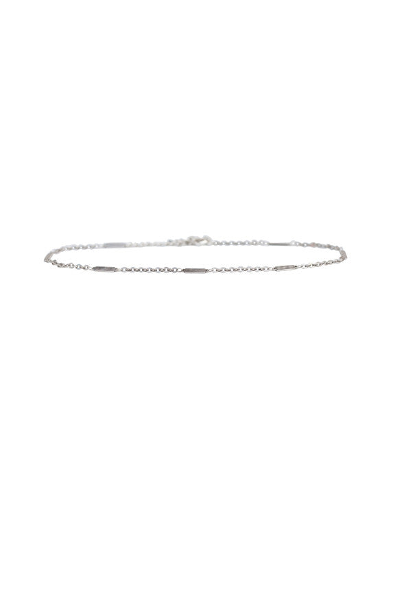 Desert Essence Chain Choker in Silver