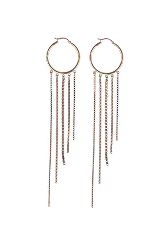 Diva Fringe Earring - MORE METAL OPTIONS