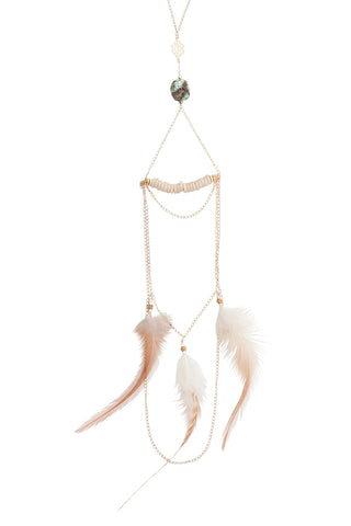 Goddess Feather Necklace