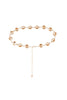 Golden Shadow Crystal Choker