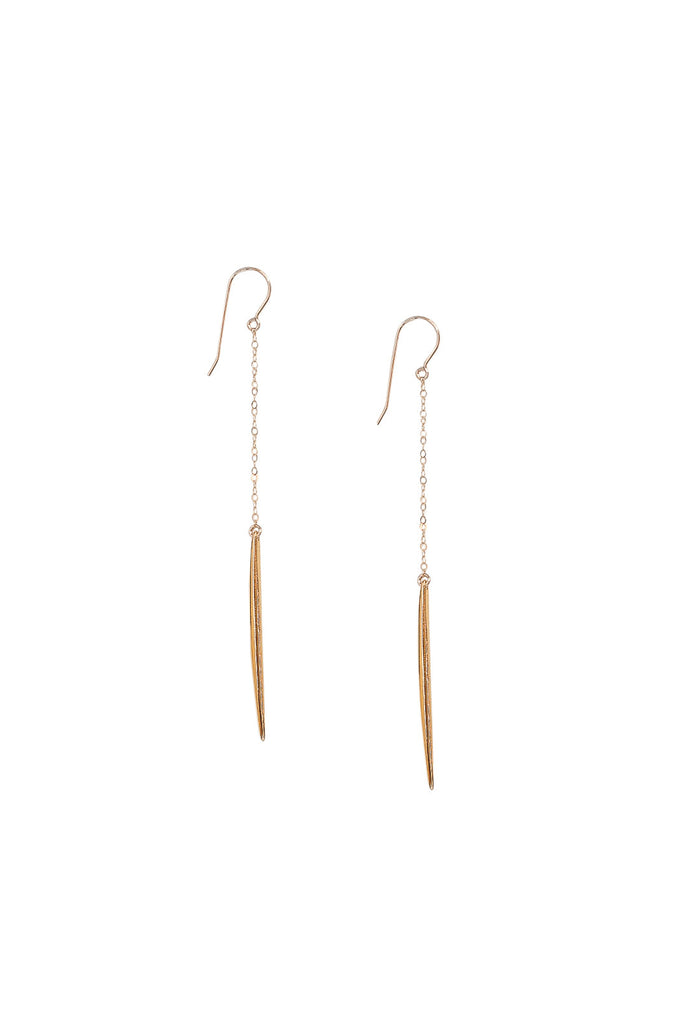 Spike & Chain Earrings