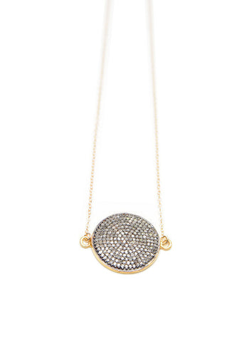 Sundial Diamond Necklace