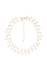 Bridal Dangling Moonstone Drops double Chain Necklace