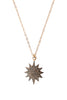 Sunshine Pave Diamond Necklace