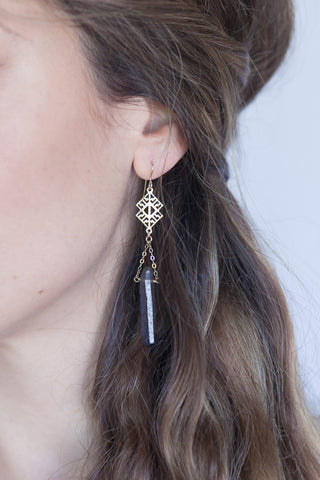Mystique Crystal Earrings