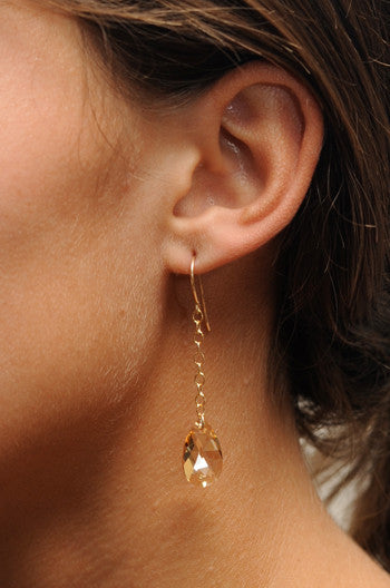 Petite Savannah Crystal Earrings
