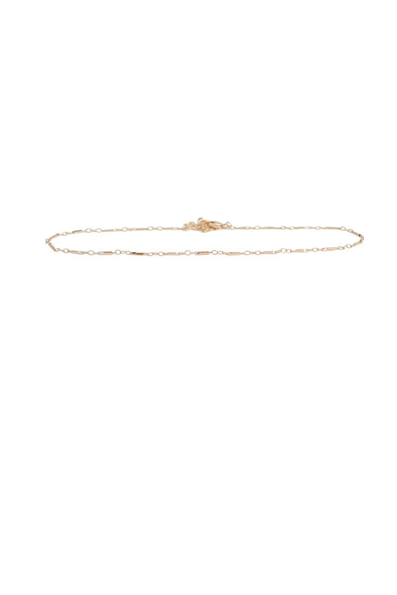 Isadora Chain Choker in Gold