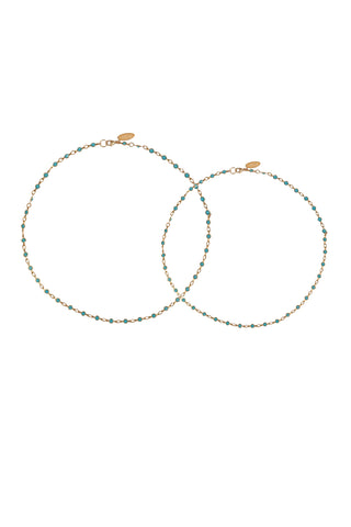 Swarovski Crystal Necklace & Bracelet Sets:  GOLD crystal options