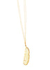 Double Chain Ivory Feather Boho Necklace- SOLD OUT!!