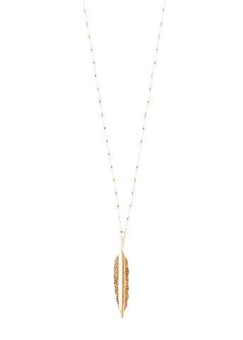 Paradise Feather Necklace
