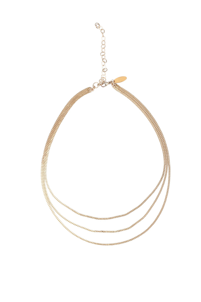 Retro Petite Choker in Gold, Silver or Rose Gold