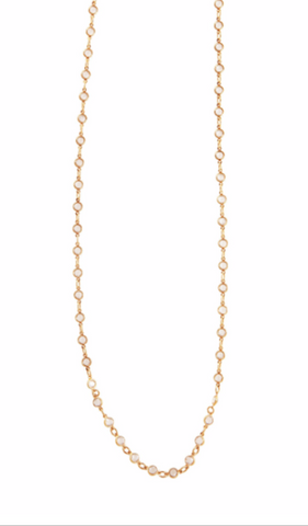 Signature Petite Crystal Layer Necklace