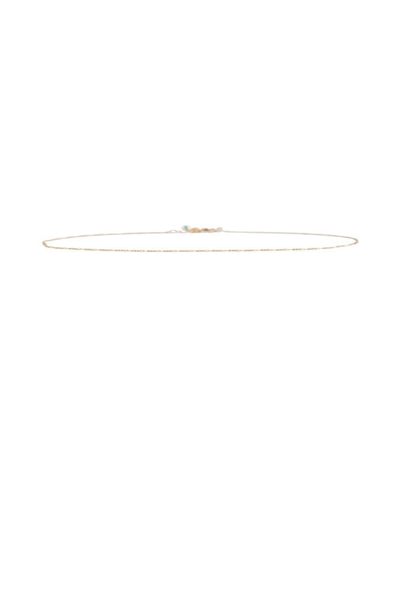 Serenity Chain Choker in Gold