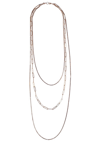 Sunstone Layer Necklace