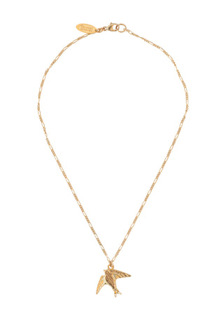 The Sparrow Necklace in Gold