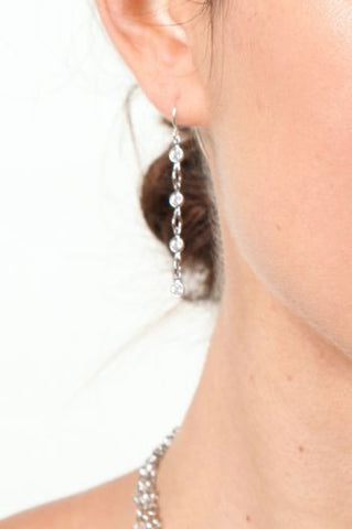 Regal Crystal Drop Earring
