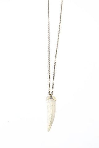 Tibetan Horn Necklace- Sold out!!