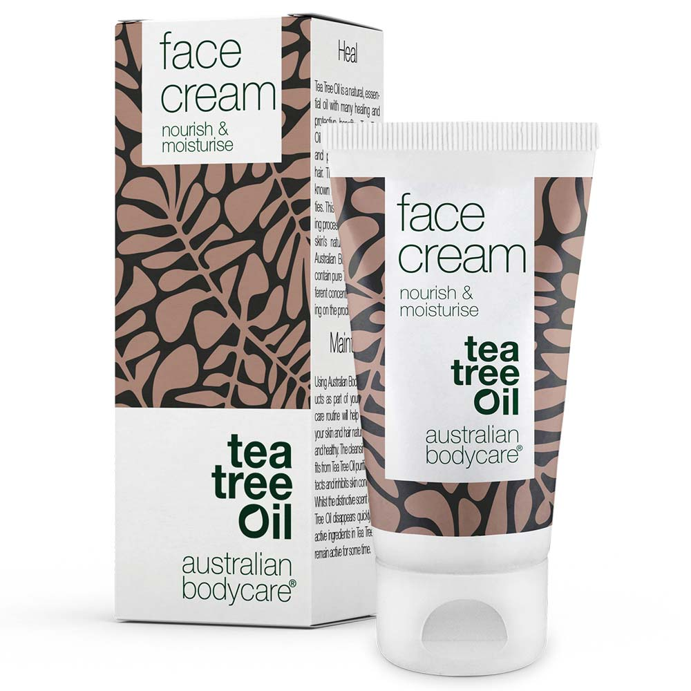 Australian Bodycare Face Cream - moisturiser perfect for spots, pimples, oily, and acne prone skin
