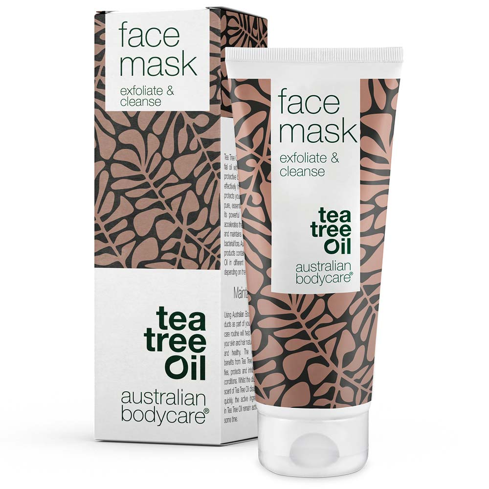 Australian Bodycare Face Mask - Deep cleansing face mask against blackheads and pimples