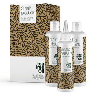 3 products against dandruff, dry and irritated scalp - Everything you need for dry scalp and dandruff all in one package
