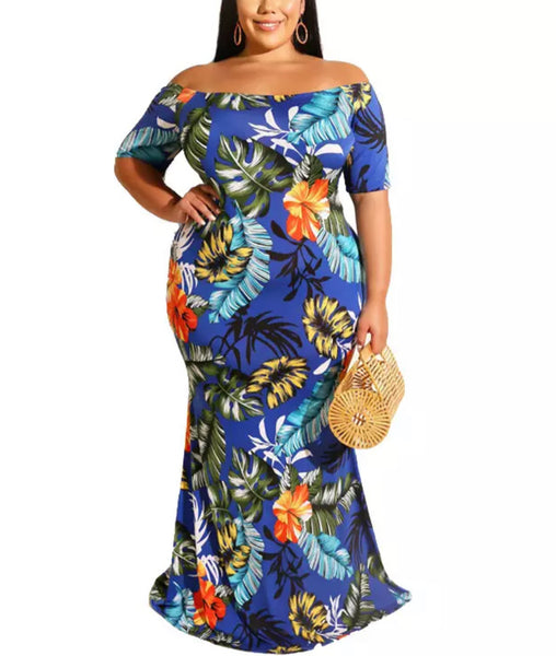 Hawaii Maxi Dress