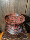 Antique Burmese Red Lacquer Tray
