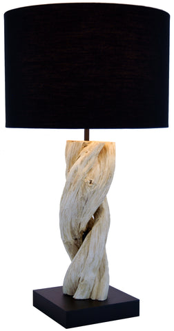 Twisted Vine Table Lamp from Northern Thailand