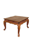 A Fine Carved Antique Teakwood Occaisional Table from Yunnan, 19th Century