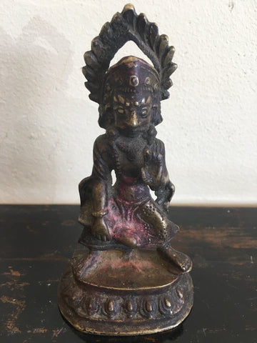Antique Bronze Statue of Hanuman