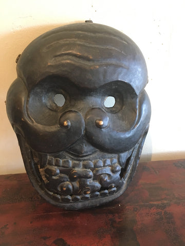 Very Fine Antique Tibetan Citipati Mask