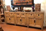 Antique Sideboard, elmwood