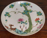 Antique Chinese Famille-Rose Plate c.1920