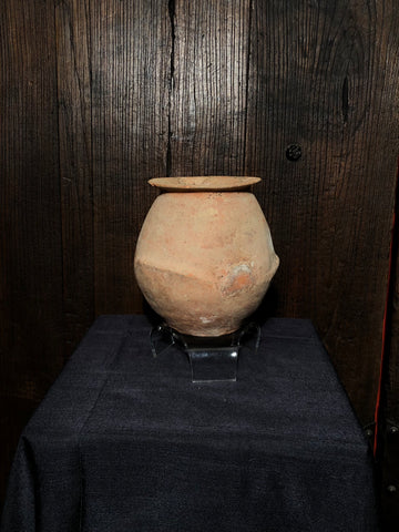 terra cotta roman herodian pot isreal holy land first century