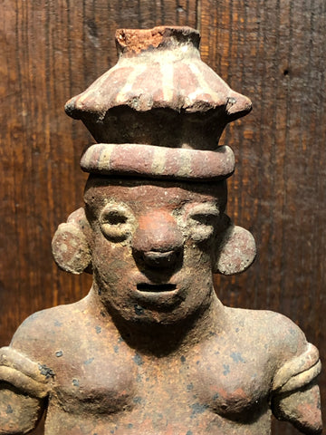 A Rare and Unusual Nayarit Shaft Tomb Figure