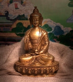 "Seated Buddha 8"" tall"