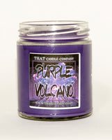 Candle Purple Volcano scented