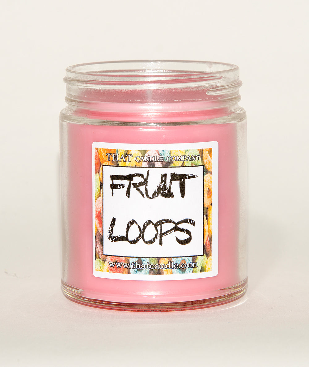 Candle Fruit Loops scented