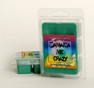 Wax Melt Jamaica Me Crazy scented