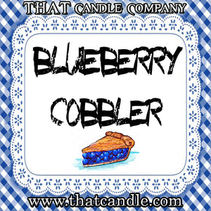 Wax Melt Blueberry Cobbler scented