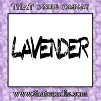 Candle Lavender scented
