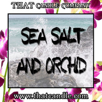 Candle Sea Salt & Orchid scented