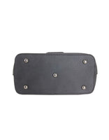 Old Mission Handbag (Cobblestone Gray) - Bottom
